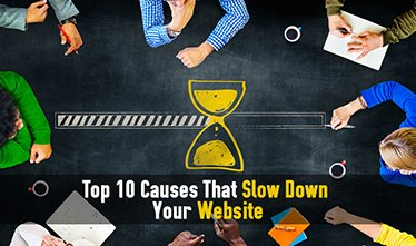 Losing Sleep Over Your Slow Website? Here Are Ten Common Causes That Slow Down Your Website.