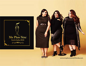 Ms Plus Size North India 2018